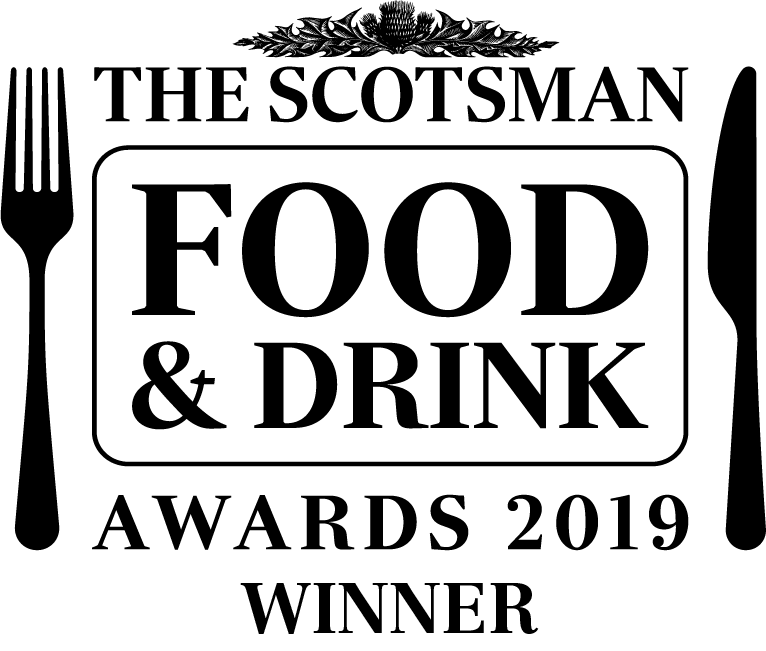 Scotsman Food and Drink Award Winner 2019